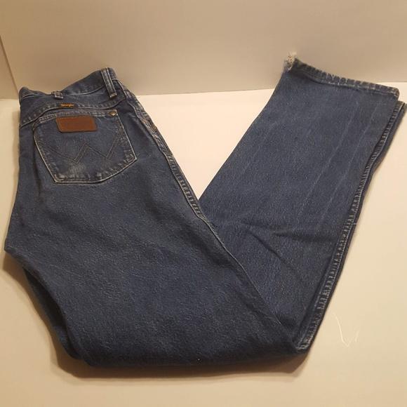 Vintage Wrangler Slim Fit Jeans 36mwzpd